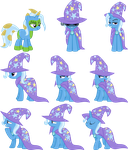Trixie Vectors Set 18 by Jeatz-Axl