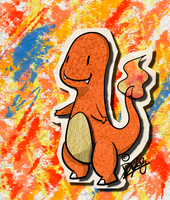 KAWAIIDEX: 004 - Charmander by Draareg