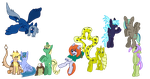 Canterlot Group by GlitzerKirby