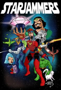 Starjammers 2018 COLORED