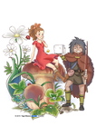 The Borrower Arrietty by yagihikaru