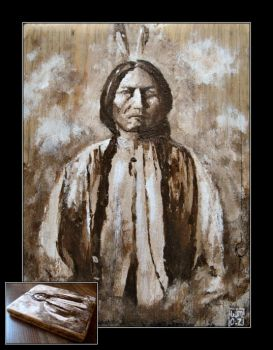 Sitting Bull by mruqe