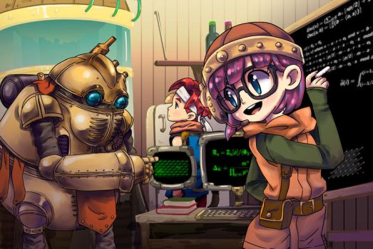 Commission - Lucca Maths by Jumpix