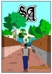 GTA SA-M1- In the beginning (colored version)
