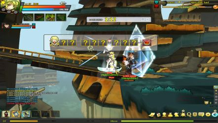 PLAYING ELSWORD by louisejeanllanito
