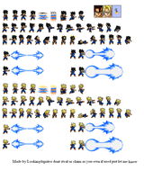 Vegito Base by looking4sprites