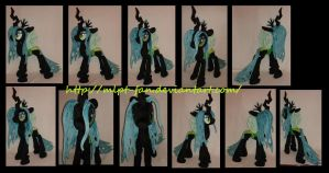 Queen Chrysalis V3 (revised pattern) by calusariAC