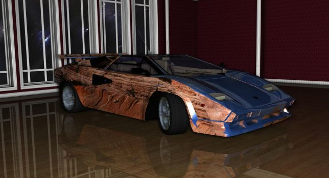 Lamborghini Countach-8 by TheRedCrown