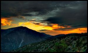 Hills Are Filled With Fire by JoeBostonPhotography