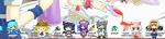 All my non-SWR Touhou shimeji by Wriggle-Kick