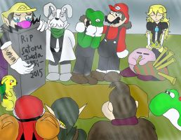 In memory of Iwata by kingofthedededes73