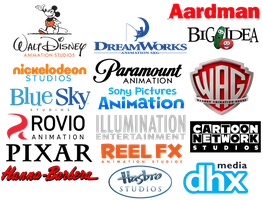 My Favorite Animation Studios by jared33