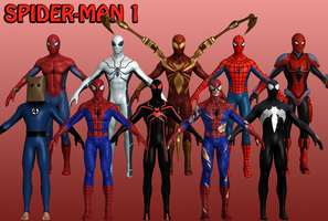 Spider-Man Marvel Heroes XNALara 1 by Xelandis