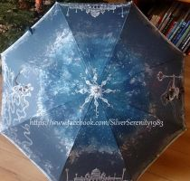 Super Sailor Moon Umbrella Serenity/ Pluto by SilverSerenity1983