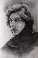 Kylo - Sketch 3 by jodeee