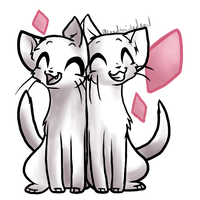 Free Valentines Kitty Base - Moirallegiance by ThisAccountIsDead462