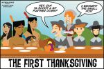 The First Thanksgiving by PolishTamales