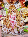 + Winx Club - Flora + (+drawing video) by MroczniaK
