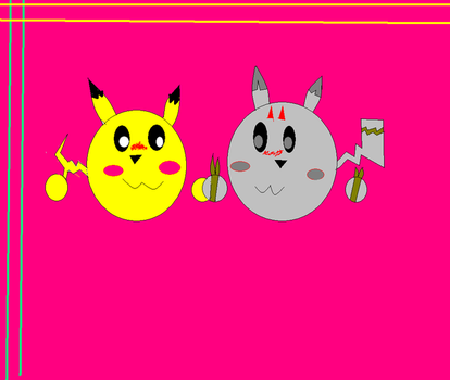 Icon Evilchu and Piktchu by hmueller