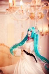 VOCALOID_a nightingale by hybridre