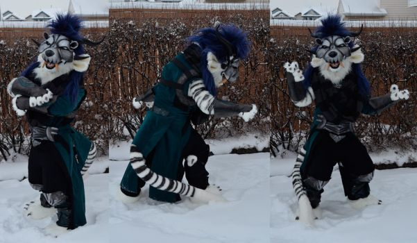 Male Charr with armour (outdoor) - Guild wars by temperance