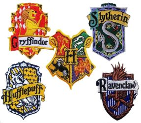 NEW HOGWARTS HOUSE SYMBLES !!! by SmurfyCarl-42