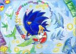 Lullaby for Sonic (Sonic 1 Special Stage) by Liris-san