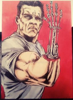 Terminator 2: Judgment Day Sketch Card