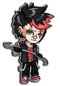 Chibi Scott by Saragonvoid
