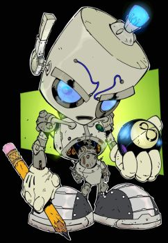 I.D. Robot by Todd3point0