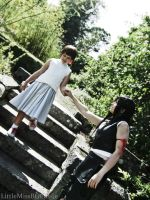 Tifa and Marlene: Little Princess by BethanyGraceCosplay