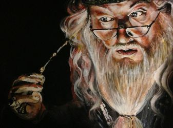 Dumbledore by ckrickett