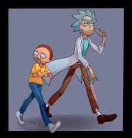 More Rick and Morty by Shadowlink-44