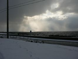 Snow by the Sea 2 by katters