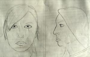 Portrait Practices. Drawing II by Jesus-Fishboy