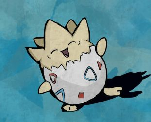 Togepi by the-figtree