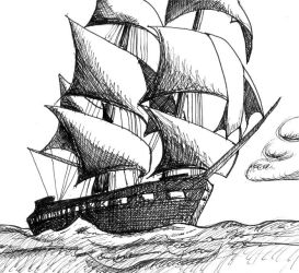 Old Ironsides by anonymousXidentity