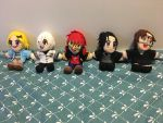 Mystic Messenger pluhsies for sale! Made on order by Claybirdies