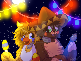 Mexican Love Story [Rockstar Chica x El Chip] by MidnightHourSal