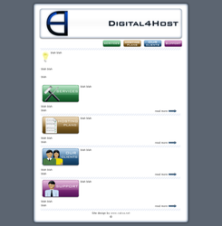 Digital4Host page by vaksa