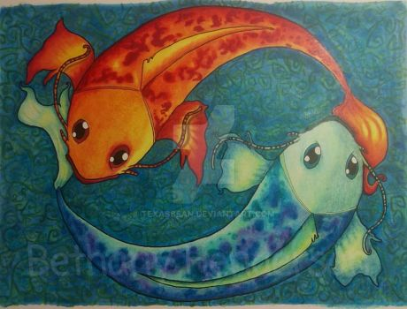 Fish - Pisces by TexasBean