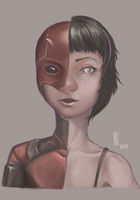Female Daredevil by MarTs-Art