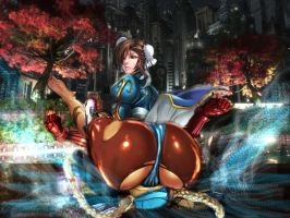 Chun-Li Wins by xkalipso