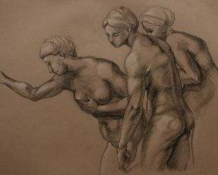 Three Graces by Sea-Sapphire
