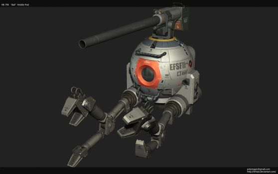 RB79'ball' game model 03 by limiao