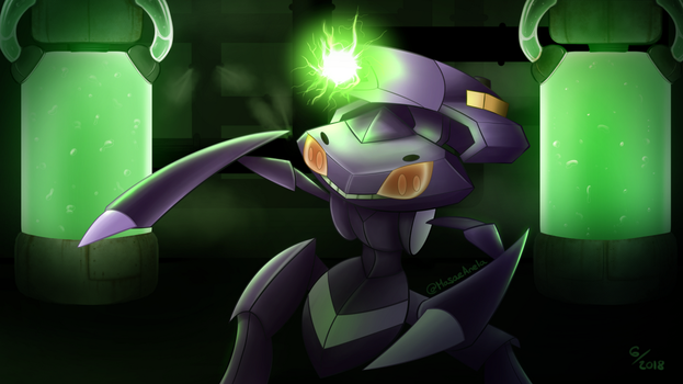 Genesect by Masae