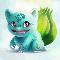 001 - Bulbasaur by TsaoShin