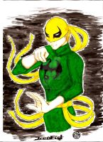 Danny Rand aka Iron Fist 3 by MorrigainCrow