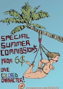 SUMMER COMMISSIONS from 6$!!!!:O by ErotixXx