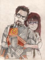 Dr Gordon Freeman and Me by Alice88
